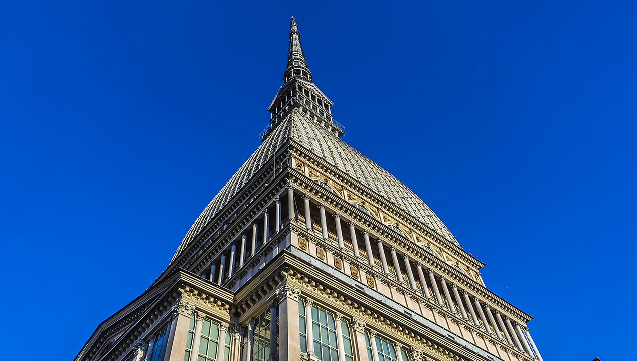 The Mole Antonelliana, the home of the National Cinema Museum